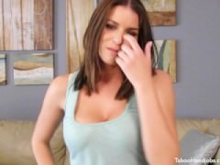 Brooklyn Chase gives an awesome handjob