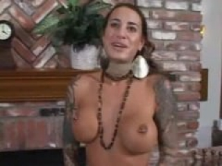 POV suckjob by hot tattooed MILF