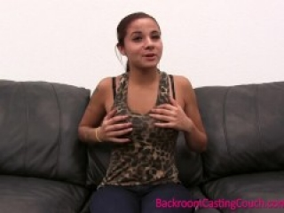 Teen does it all on the Casting Couch