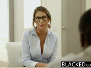 August Ames enjoys a creampie from BBC