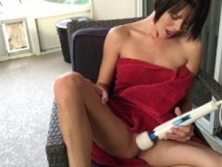 Tiny brunette sucks and fucks hard