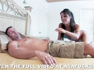 Pornstar Asa Akira doing what she does best