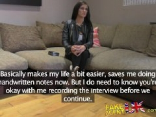 Tattooed brit thinks shes going to be a porn star
