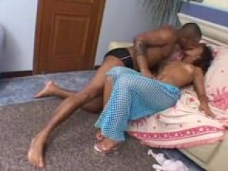 Latina ass pummeled by black cock