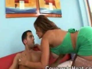 Monique Fuentes fucks a young buck