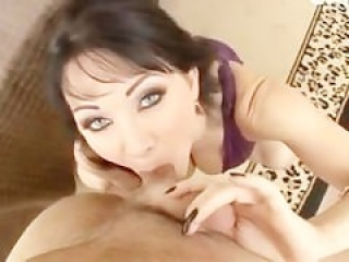 Brunette cougar screwed POV